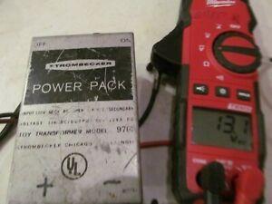 VINTAGE Strombecker Power Pack  9703 *TESTED GOOD* 13 Volt DC 2 sets of outputs