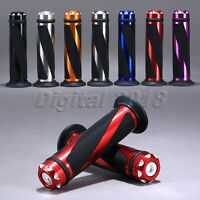 "Motorcycle 7/8"" Handlebar Aluminum Handle Grip For Kawasaki Honda Yamaha Suzuki"