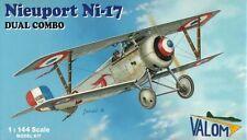 Valom 1/144 Model Kit 14405 Nieuport N.17 Dual Combo