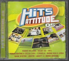 CD COMPIL 19 TITRES--HITS ATTITUDE 05--WILLIAMS/MICKEY 3D/TATU/CORNEILLE/JENIFER
