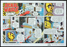 STAR WARS REPRO 1979 . L.A. TIMES NEWSPAPER COMIC STRIP SAMPLE . NOT DVD
