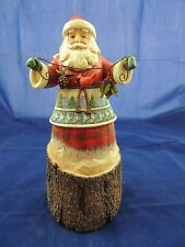 Jim Shore Santa Nature's Noel 4024280 9.75""