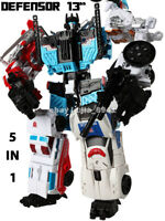 "New In Stock Transformers Defensor HZX 5 In 1 Action Figure IDW KO 13"" Kids Toys"