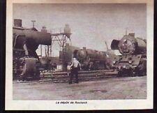 1967  --  LE DEPOT DE TRAIN DE ROSTOCK  E583