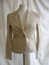 Ladies coat/jacket - Old Navy Brand, size M, beige, cotton, smart/casual - 7364