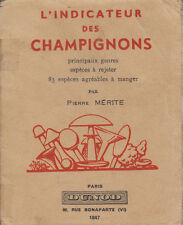 """L'indicateur des champignons """" Pierre Mérite """" ( No 6035 )"""
