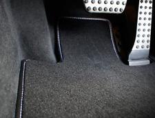 Toyota Previa (00>06) car mat set in black (Deluxe Range)