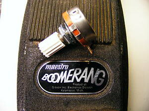 Repl. Pot-Maestro BOOMERANG BG-1, BG-2wahs-SUPER Quality BG1 BG2 potentiometer