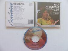 ELLA FITZGERALD Lover come back to me  MLLCD 1316  CD Album