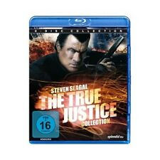 SEAGAL/PENA/EKLUND - THE TRUE JUSTICE 6-DISC- COLLECTION 6 BLU-RAY ACTION NEU