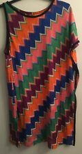 NWT Authentic MISSONI MARE Zigzag Short Beach Cover-up Kaftan Tunic SZ 42 EU