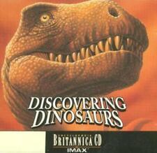 Encyclopaedia Britannica: Discovering Dinosaurs PC MAC CD history evidence IMAX!