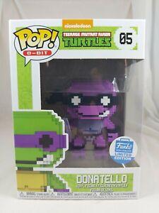 8-BIT Funko Pop - Donatello (Neon) - Teenage Mutant Ninja Turtles - No. 05
