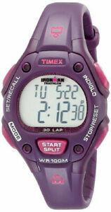 "Timex T5K756, Women's ""Ironman"" 30-Lap Resin Watch, Alarm, Indiglo, Chronograph"