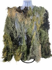 Rothco Ultra Light Ghillie Complete Suit Woodland Camouflage Hunting Size M/L