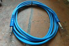 Cable 3M 3 metres Black MOULE Jack Guitare Basse HAUTE Qualité SUPER SOUPLE
