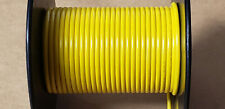 STRANDED YELLOW HOOKUP WIRE 18AWG 300V (10FT)