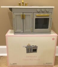 NEW Pottery Barn Kids Doll Kitchen Sink **Small Issue**