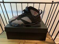 Air Jordan 7 Retro Mens Size 11 Black Bordeaux-LT Graphite-Midnight