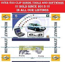Renault CAN Clip V177, Re-PROG V164, pin Extracteurs 1 & 2, radio Calculatrice