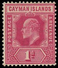 "CAYMAN ISLANDS 22 (SG26) - King Edward VII ""Keyplate"" (pa57763)"