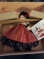"*Madam Alexander 'Germany' 7 1/2"" International Doll #563 w/Box & Tags"