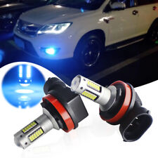 2pcs Ice Cold Blue 30-SMD H8 H11 LED Bulbs for Car Fog Lamps DRL Driving Lights