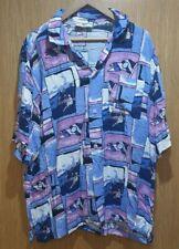 Le Frog Retro Shirt Men's XL (U.S) / XXL (UK) - Purples - Lido Scene