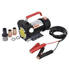 Tragbar Dieselpumpe Ölabsaugpumpe Ölpumpe 2400L/H Kraftstoffpumpe 155W 12V