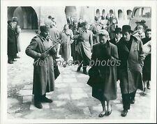 1958 The Journey Original Press Photo Deborah Kerr Yul Brynner