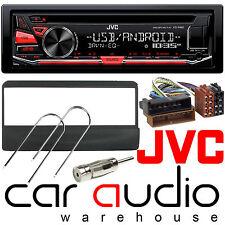 Ford Focus 98-04 JVC CAR STEREO CD MP3 RADIO USB AUX-IN KIT DI VISUALIZZAZIONE Rosso Player