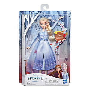 Frozen 2 - Singende Elsa Eiskönigin Singt und Leuchtet Hasbro