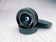 VERY RARE mount M 42 on Lens INDUSTAR-69M 2,8/28 With distance scale on Rim
