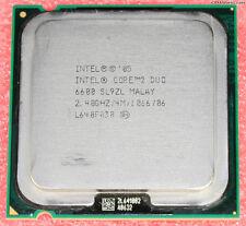 Intel Cpu Core 2 Duo E6600 2.40Ghz Fsb1066Mhz 4M Lga775