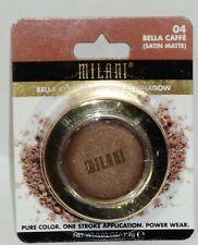 1 Milani Bella Eyes Gel Powder Shimmer Eye Shadow BELLA CAFFE #04 Sealed NIP