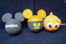 LOT OF 3 MICKEY MOUSE EARS 50TH NEMO ANTENNA TOPPERS