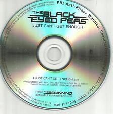 BLACK EYED PEAS Just Can't get Enough TST PRESS PROMO DJ CD single USA MINT