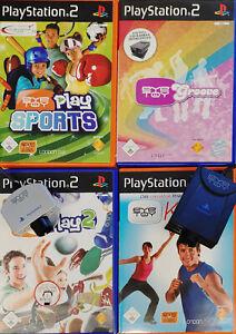 Sony Playstation 2 Eyetoy 1 -2 -3 & Eye Toy Cam und weitere Spiele zur Auswahl