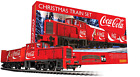 Coca Cola Christmas Electric Model Train Set HO Track Remote Control Toy Gift