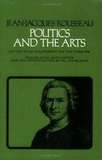 Politics and the Arts: Letter to M. D'Alembert on the Theatre Agora Editions