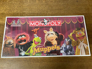 Monopoly Muppets Collectors Edition *Brand New Sealed*