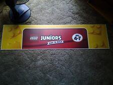 Lego Junior Acrylic Plastic Toys R Us Display Banner Sign