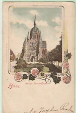 Berlin ( Berlijn) duitsland/Germany 1904 -used picture postcard with Dutch Stamp