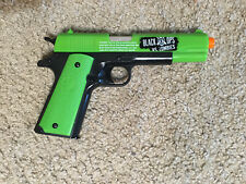 Airsoft Black Ops VS Zombies C02 Air Pistol. Pre-Owned. Very Good!