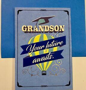 Graduation Card- Grandson Graduation Card