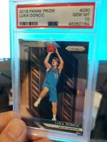 2018 Panini Prizm #280 Luka Doncic RC Rookie Mavericks PSA 10 GEM MINT