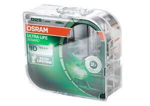 Osram D2S 66240 ULT XENARC® ULTRA LIFE Scheinwerferlampe Extra Lifetime 2 Stück