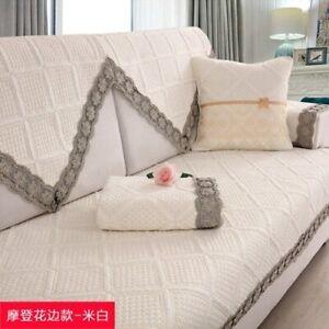 Cotton Sofa Cushion Four Seasons Universal Cotton Modern Non-slip Towel Cover
