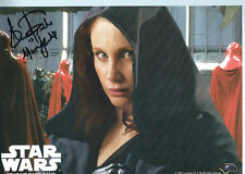 STAR WARS Expanded Universe MARA JADE Shannon McRANDLE signed photo card!