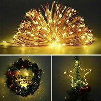 5/10/20m 5V USB LED Fairy String Light 8 Modes Outdoor Garden Party Flower Decor
